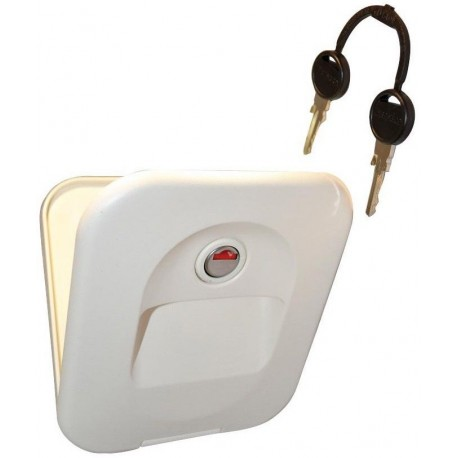Thetford Cassette Toilet Waterfill (Flush) Door - Ivory - Part 23791-57