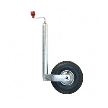 Alko 48mm Heavy Duty Air Pneumatic Jockey Wheel
