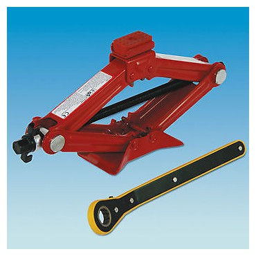 Car / Caravan Emergency Ratchet Scissor Jack