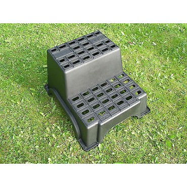 Milenco Mgi Super Strong Plastic Double Caravan Step
