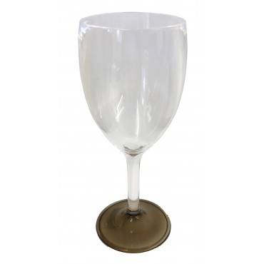 "Polycarbonate Elegance Wine ""Glass"" - Smoke"