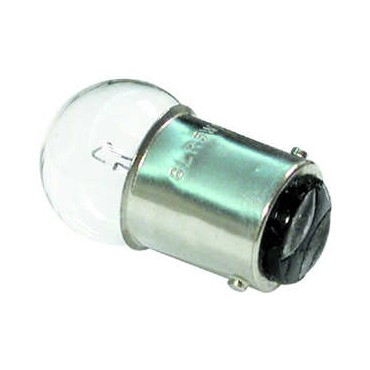 Double Contact Bulb 12v 5w Ba15d 15mm Base