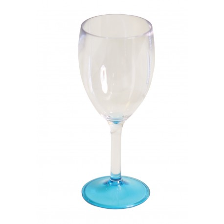 "Quest Leisure Lightweight Polycarbonate Elegance Wine ""Glass"" - Blue"