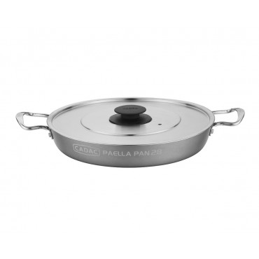 Cadac Outdoor Cooking Paella Pan with Lid for Safari Chef 2