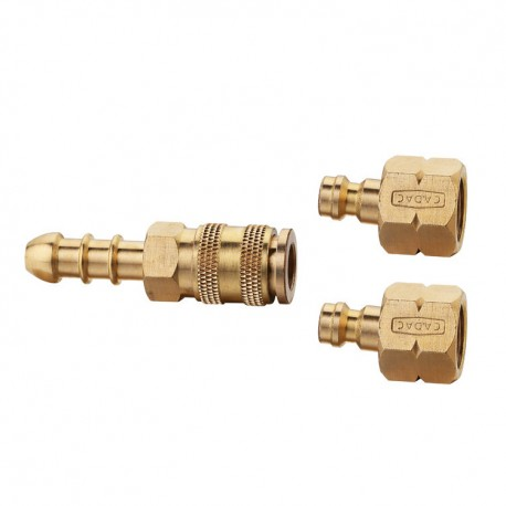 Cadac 2-Piece 8mm Quick Release Coupling Barbecue Tailpiece