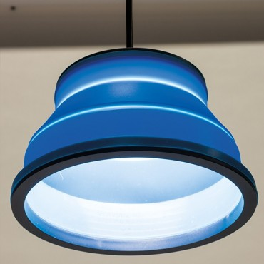 Kampa Groove 12 & 240v Hanging Light - Blue