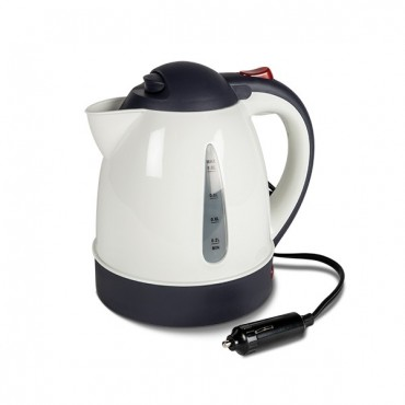 Kampa 1 Litre 12 Volt 150w Travel Kettle with concealed element