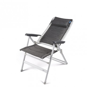 Kampa Lightweight Folding Camping Reclining Lounge Modena Chair