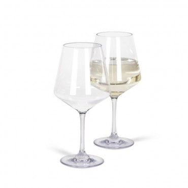Kampa Soho Pack of Two 450ml Polycarbonate Wine Glasses