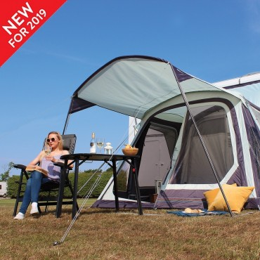 2019 Outdoor Revolution Detatchable Front Canopy for Movelite Awning