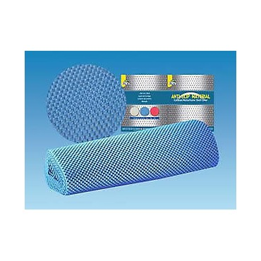 Caravan Home Car Anti Slip Mat Shelf Liner - Blue - 3 Metres X 40cm