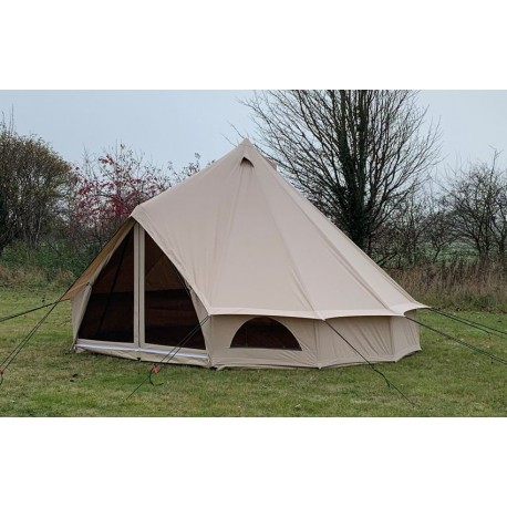 Quest Elite Signature 5 metre 100% Cotton Glamping / Family Bell tent