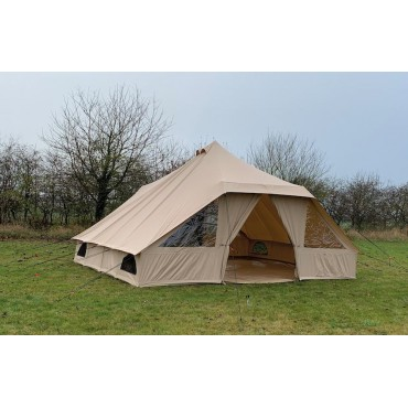 Quest Elite Signature Tourag 100% Cotton Glamping / Family Bell tent