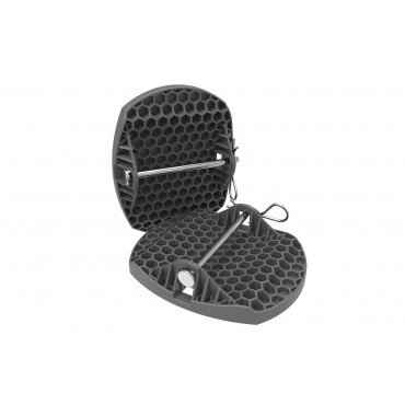 Caravan Feet Pads with Metal Pin - 4 Pk