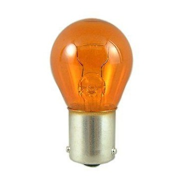 Single Contact Bulb 12V 21W Ba15s 15mm BASE - Amber