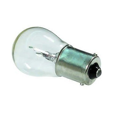 Single Contact Bulb 12V 15W Ba15s 15mm Base