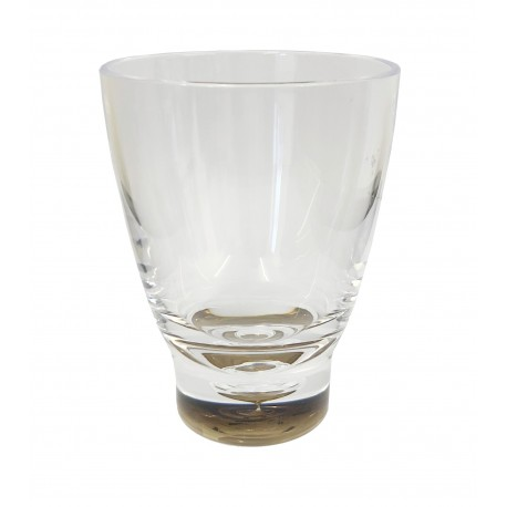 Quest Elegance Low Polycarbonate Tumbler 'Glass' - Smoked