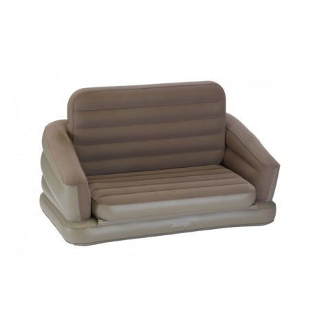 Vango Double Inflatable Sofa / Fold Out Sofabed - Nutmeg