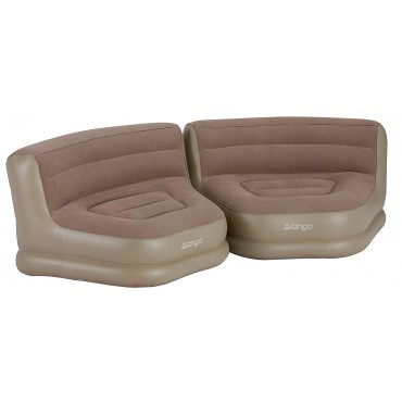Vango Inflatable Relaxer Chair - Set of Two - Nutmeg
