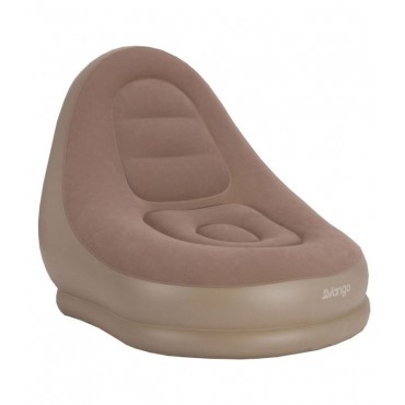 Vango Inflatable Relaxer Camping Lounger - Nutmeg