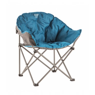 Vango Embrace Folding Compact Hug Camping Chair - Mykonos Blue