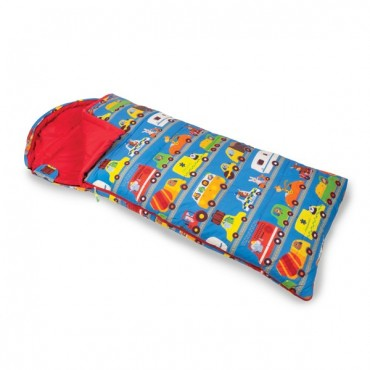 Childs Sleeping Bag with Stuff Sac - Animal Traffic