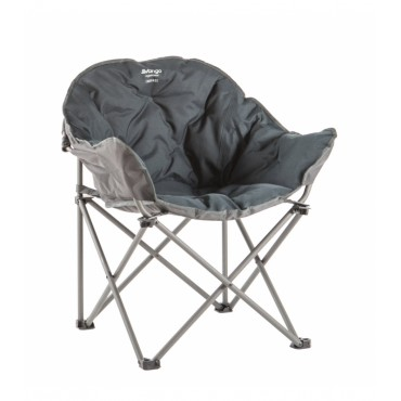 Vango Embrace Folding Compact Hug Camping Chair - Granite Grey