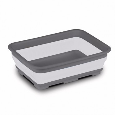 Rectangular Large Washing Up Bowl - Grey