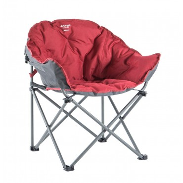 Vango Embrace Folding Compact Hug Camping Chair - Carmine Red