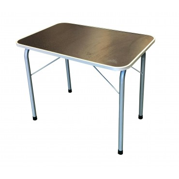 Via Mondo Small Solid Folding Camping Table (60 x 40 x 50)