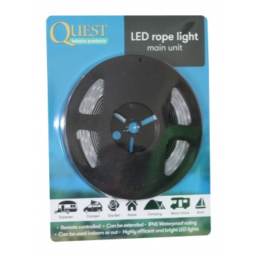 Quest LED 1.5 metre Awning Strip Light Starter Pack with Remote Control