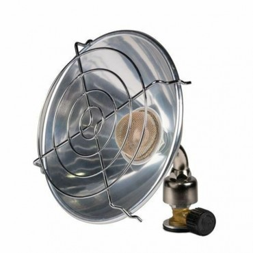Kampa Glow 1 0.7kw Single Parabolic Gas Heater
