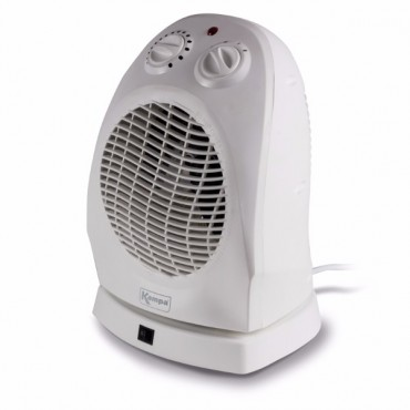 Thermostatic Oscillating Fan Heater 1000/2000w