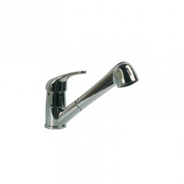 Chrome Single Lever Caravan / Motorhome Combi Shower Mixer Tap