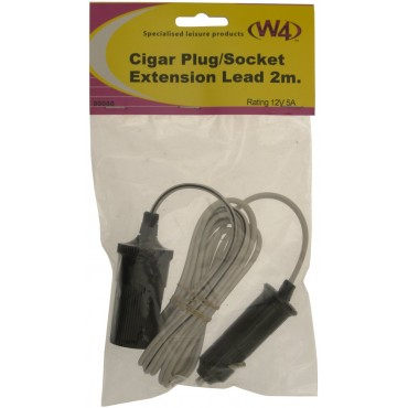Cigar/Cigarette Lighter Extension Lead - 2m