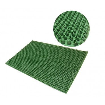 JVL  Rubber Condor Scraper Mat Perfect Size - Green