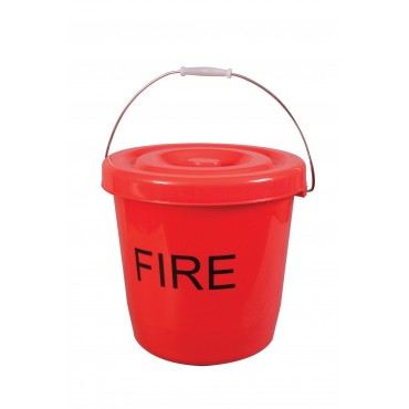 Fire Bucket With Lid - 15Ltr