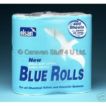 Elsan Toilet Roll / Tissues  - Pack Of Four