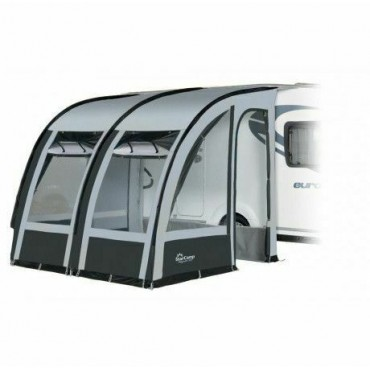 2021 Dorema Magnum 260 Lightweight Caravan Poled Porch Awning - Grey