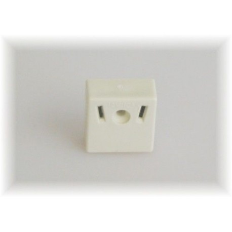 Caravan Internal Surface Mount Two Offset Pin Socket