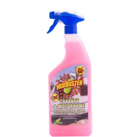 Mud Buster Caravan & Motorhome Cleaner 1ltr Spray