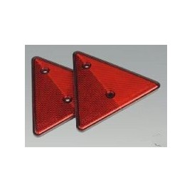 Rear Reflectors Triangles - Pk of 2