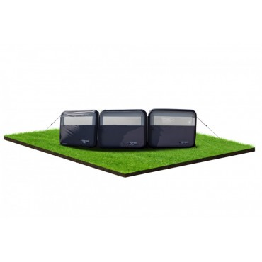 2021 Vango AirBeam Inflatable Three Panel Air Windbreak - 490 x 125 cm