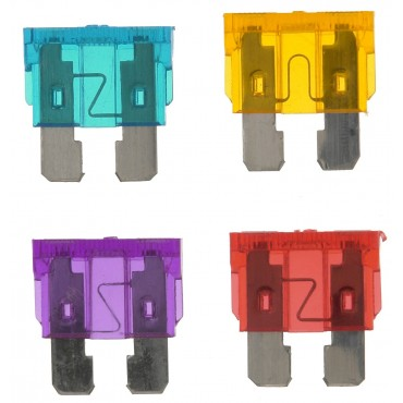 Mixed Pack Of Standard Blade Fuses