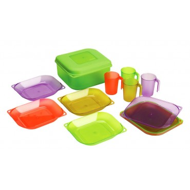 Coleman All-in-One Dining Set - Multi-Colour
