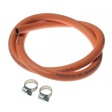 Kampa High Pressure 1 metre Gas Hose Pack (with Gas Hose Clips)