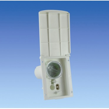 Caravan Filta Mk2 Ivory Water Inlet Socket / Housing