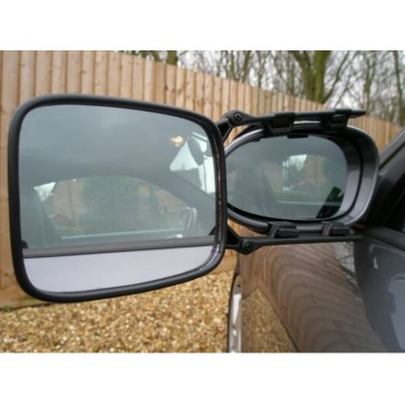 Milenco Falcon Safety Single Convex Wide View Towing Mirror