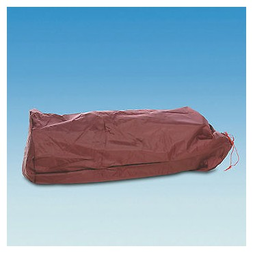 Heavy Duty Caravan Awning Canvas Holdall Bag - Burgundy