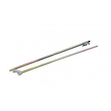 Caravan Awning Storm Pole With C Clamp End And Windlock Clamp